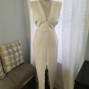 White ASOS maxi dress